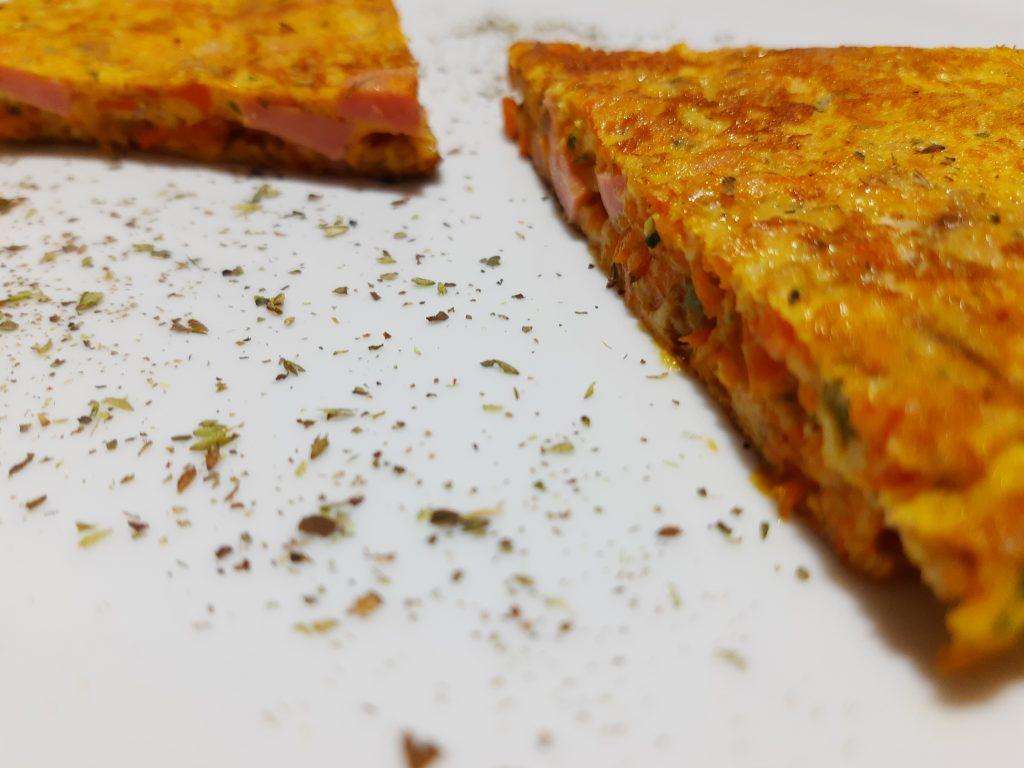 Tortilla de Zanahoria y Zapallo